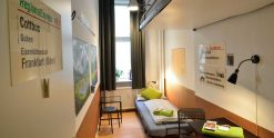 DB Sleeping Car - Doppelzimmer im Kiez Hostel Berlin