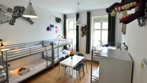 Fantasy Room - Mehrbettzimmer im Kiez Hostel Berlin