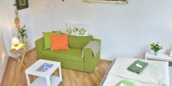 Farmers Room - Doppelzimmer mit Aufbettung im Kiez Hostel Berlin