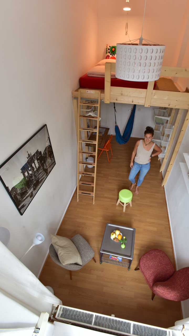 High Sleeper - Doppelzimmer im Kiez Hostel Berlin