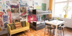 Street Vibe Room - Mehrbettzimmer im Kiez Hostel Berlin