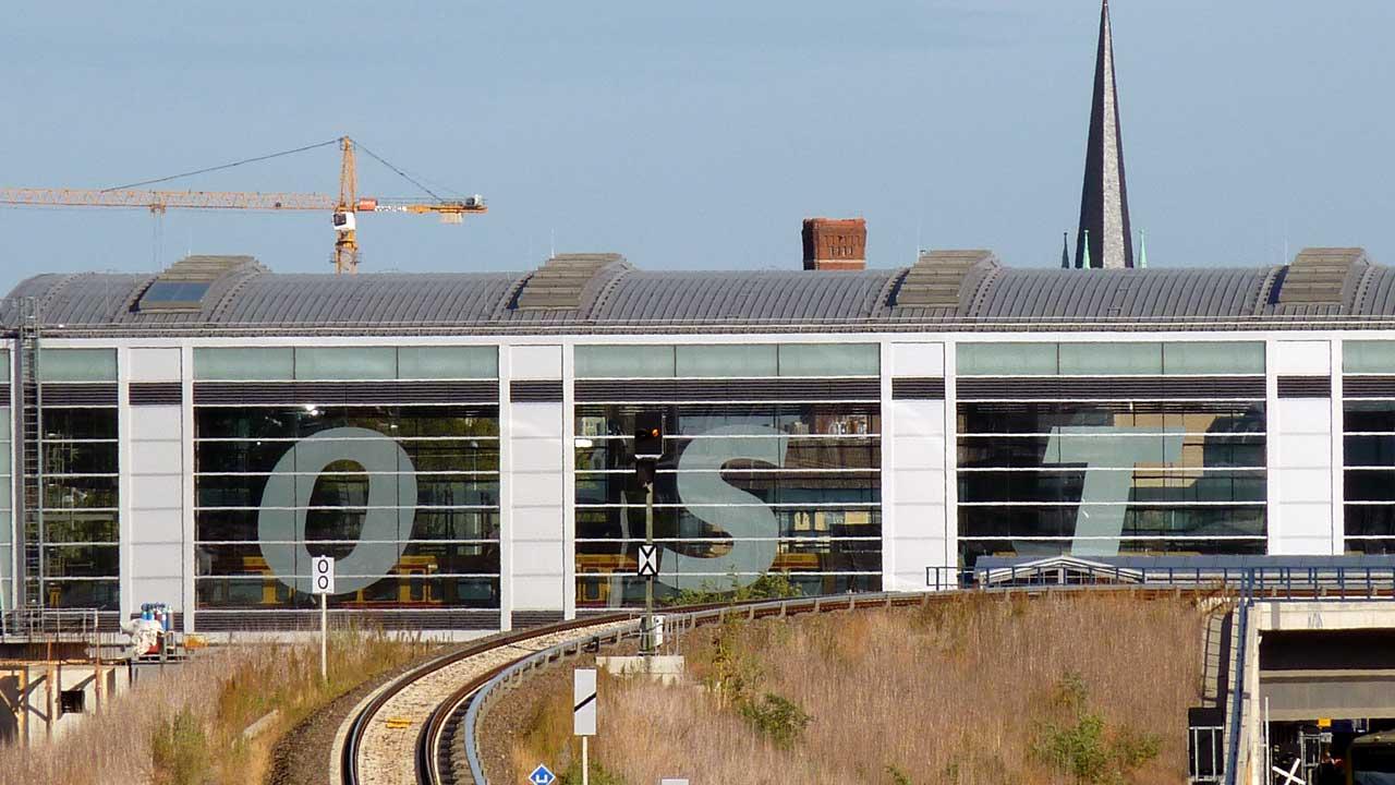 Bahnhof Berlin-Ostkreuz: Größter Umsteigebahnhof Berlins