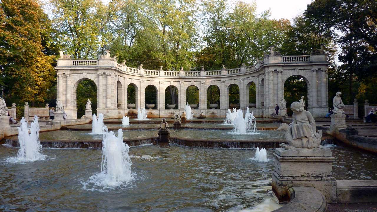 Herbstausflug Friedrichshain - Märchenbrunnen im Volkspark Friedrichshain