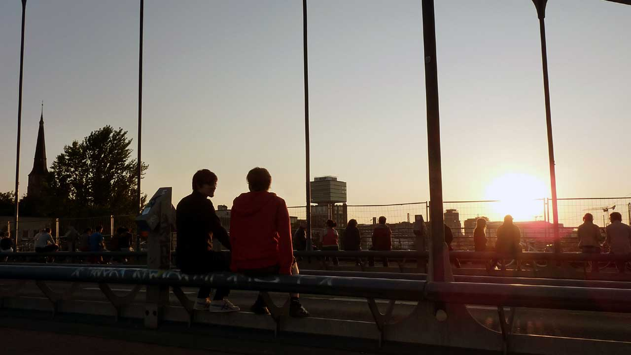 Modersohnbrücke Berlin Friedrichshain