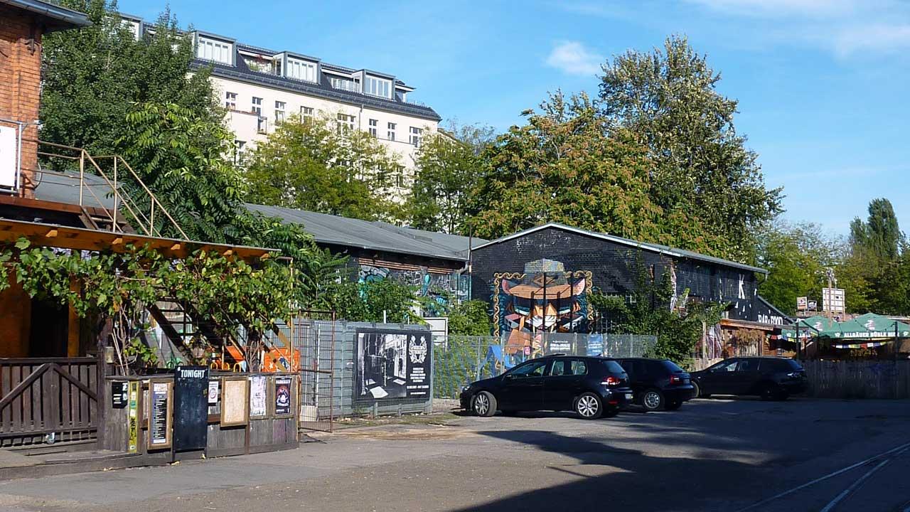 Revaler Straße: Das berühmt-berüchtigte RAW Gelände