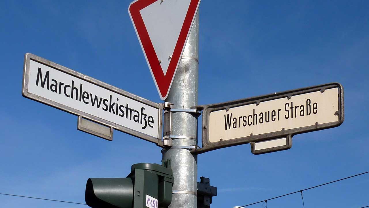 Warschauer Straße - Marchlewskistraße